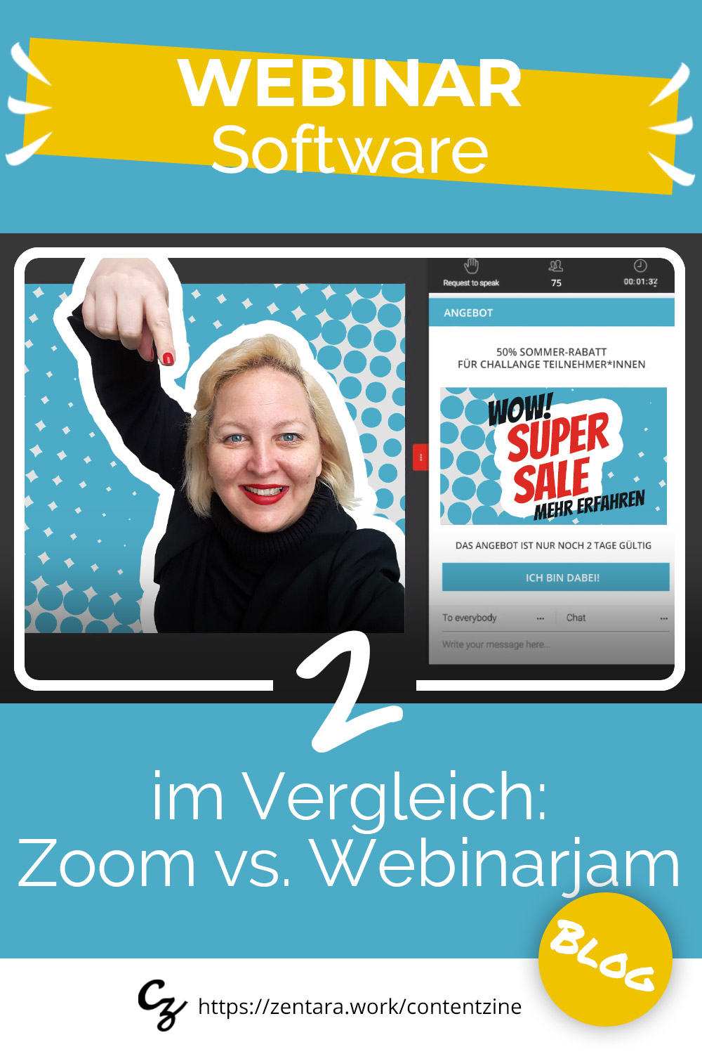 Webinar-Software für Sales & Marketing: Zoom vs. WebinarJam