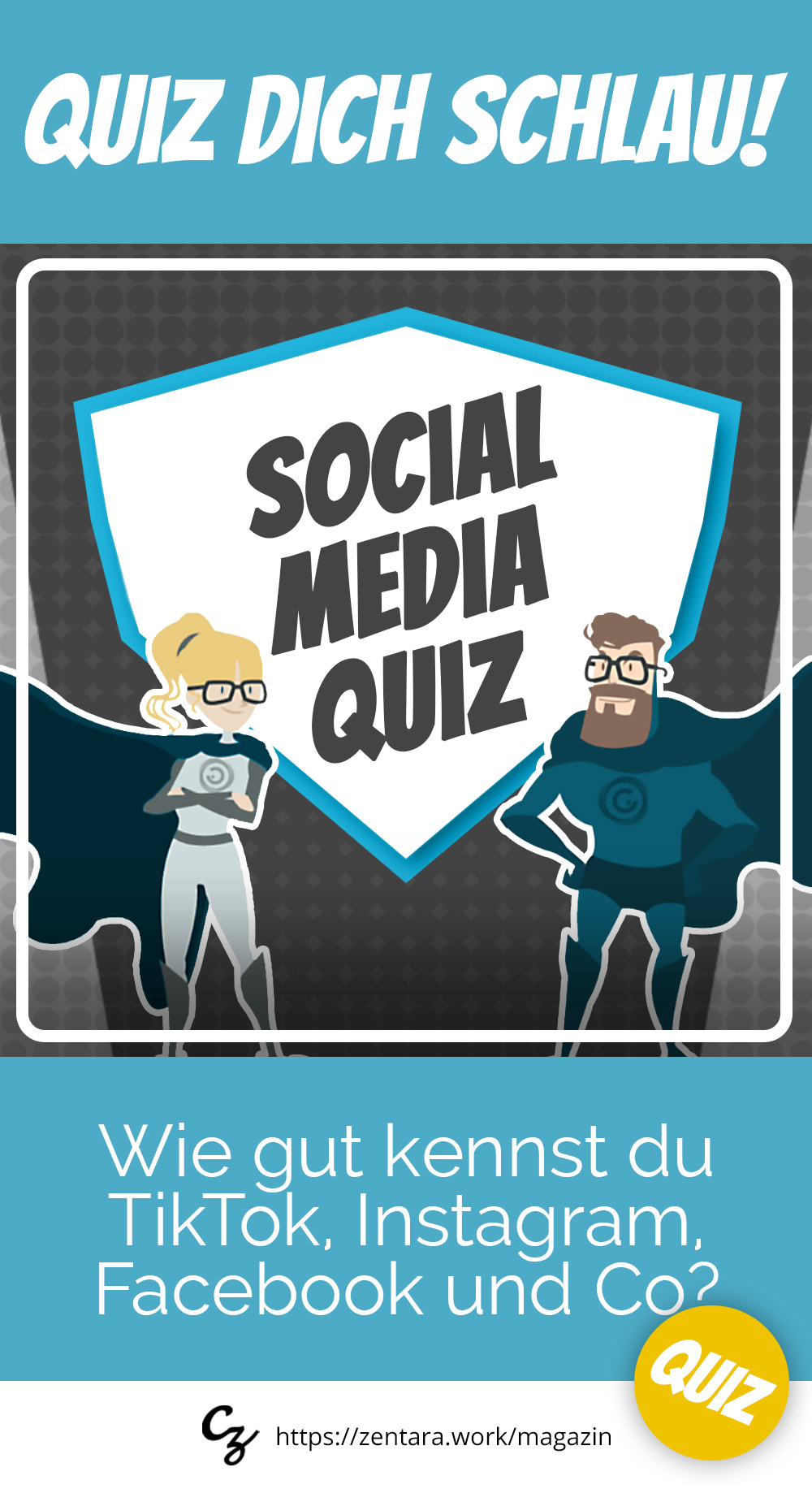 Social Media Quiz: Wie gut kennst du TikTok, Instagram und Co?