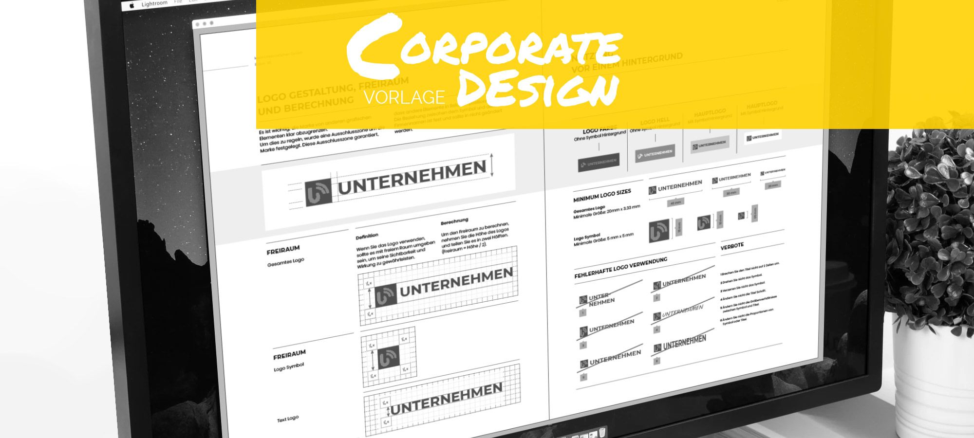 Vorlage Corporate Design